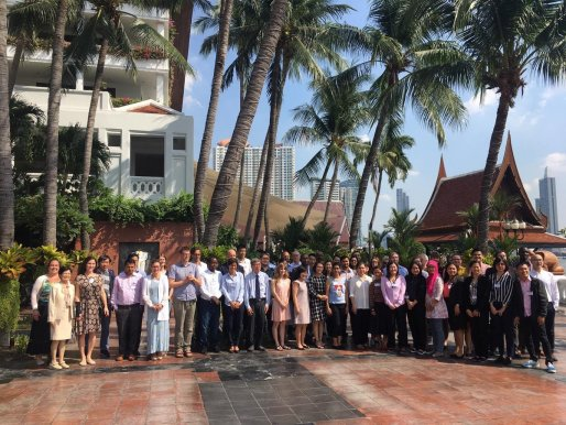 Group photo of attendees of the GCRF Networks Vaccinology Course in Bangkok