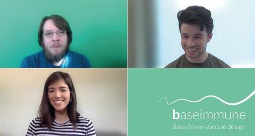 Photographs of the Baseimmune team