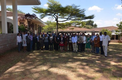 Delegates at the first meeting of the African Vaccinology Network, ILRI, Nairobi, 19-20th March 2019.