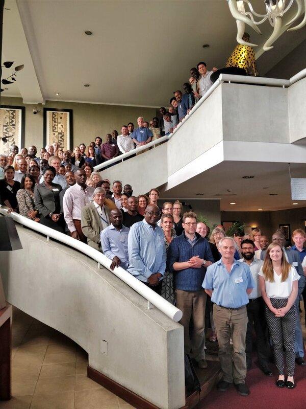 Group photograph of delegates at the IVVN's 2018 inaugural meeting in Nairobi, Kenya